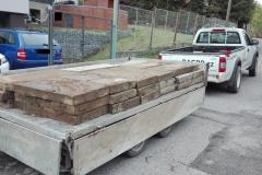 převoz betonových dlaždic