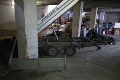 sklápění betonu v domě