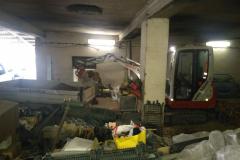 práce uvnitř budovy, strop 3 m
